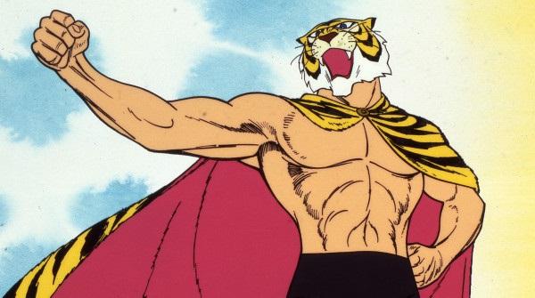 L uomo tigre eroe leale del wrestling tessere